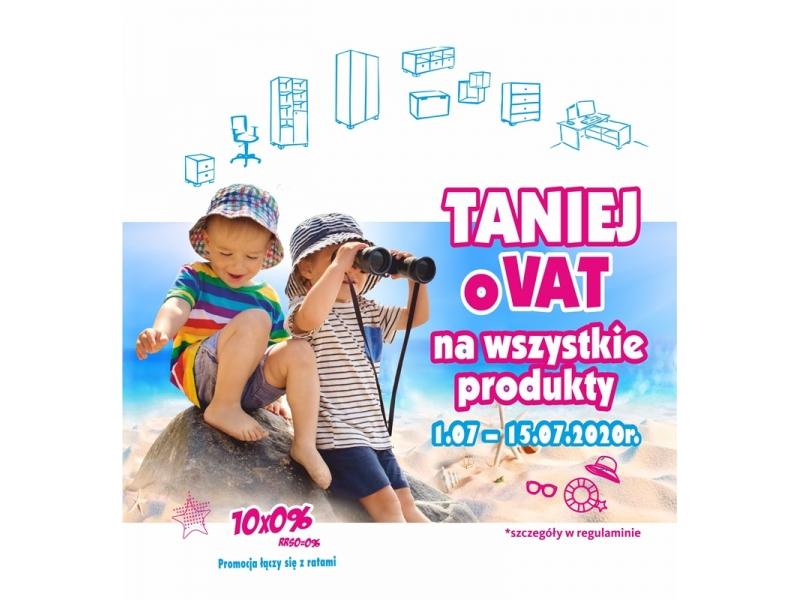 Promocja Taniej o VAT