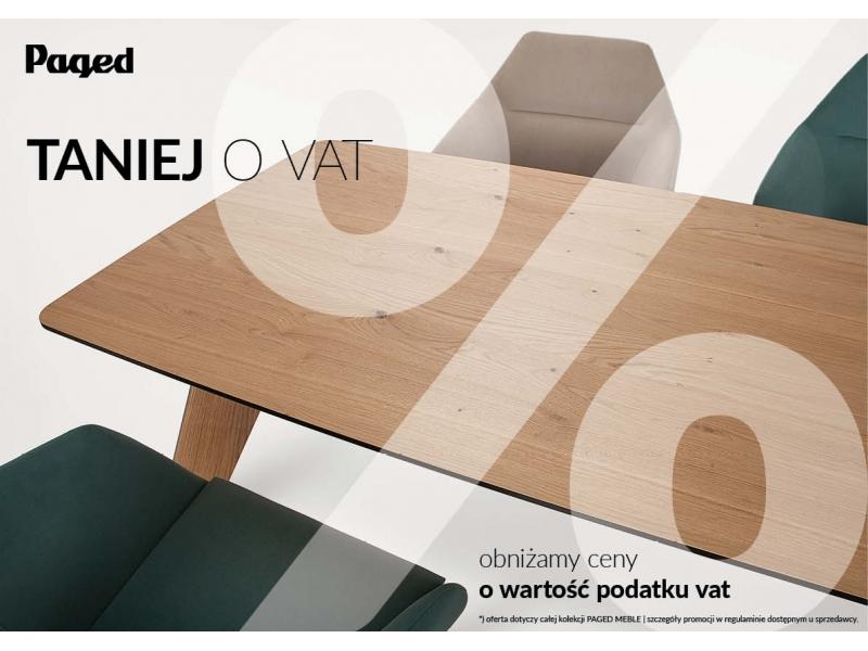 Rabat 20 na meble firmy PAGED