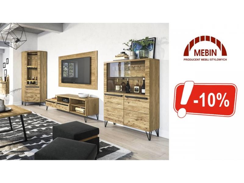 Rabat 20 na kolekcje Pireus firmy Mebin