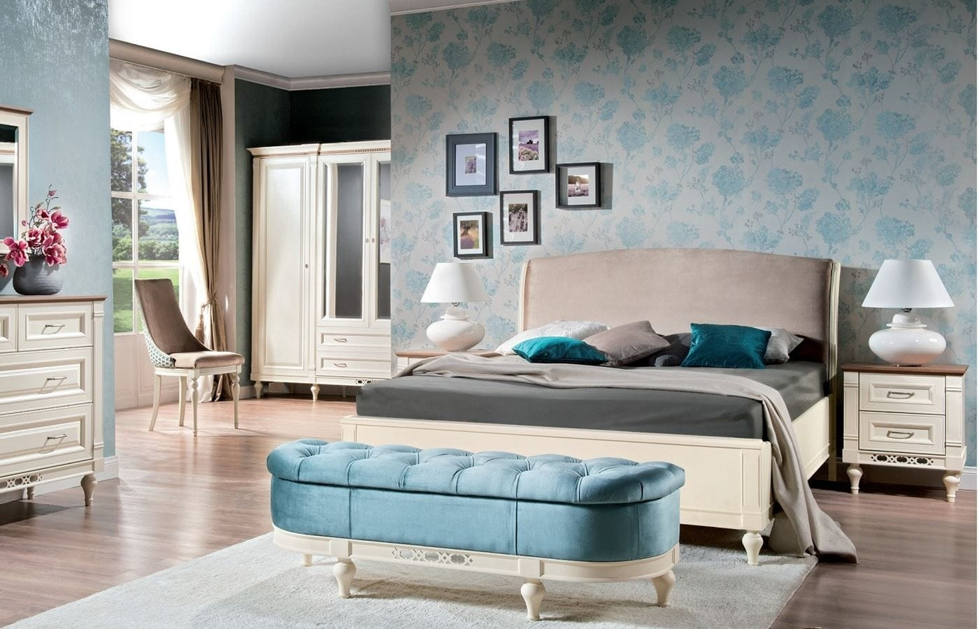 Florencja sypialnia