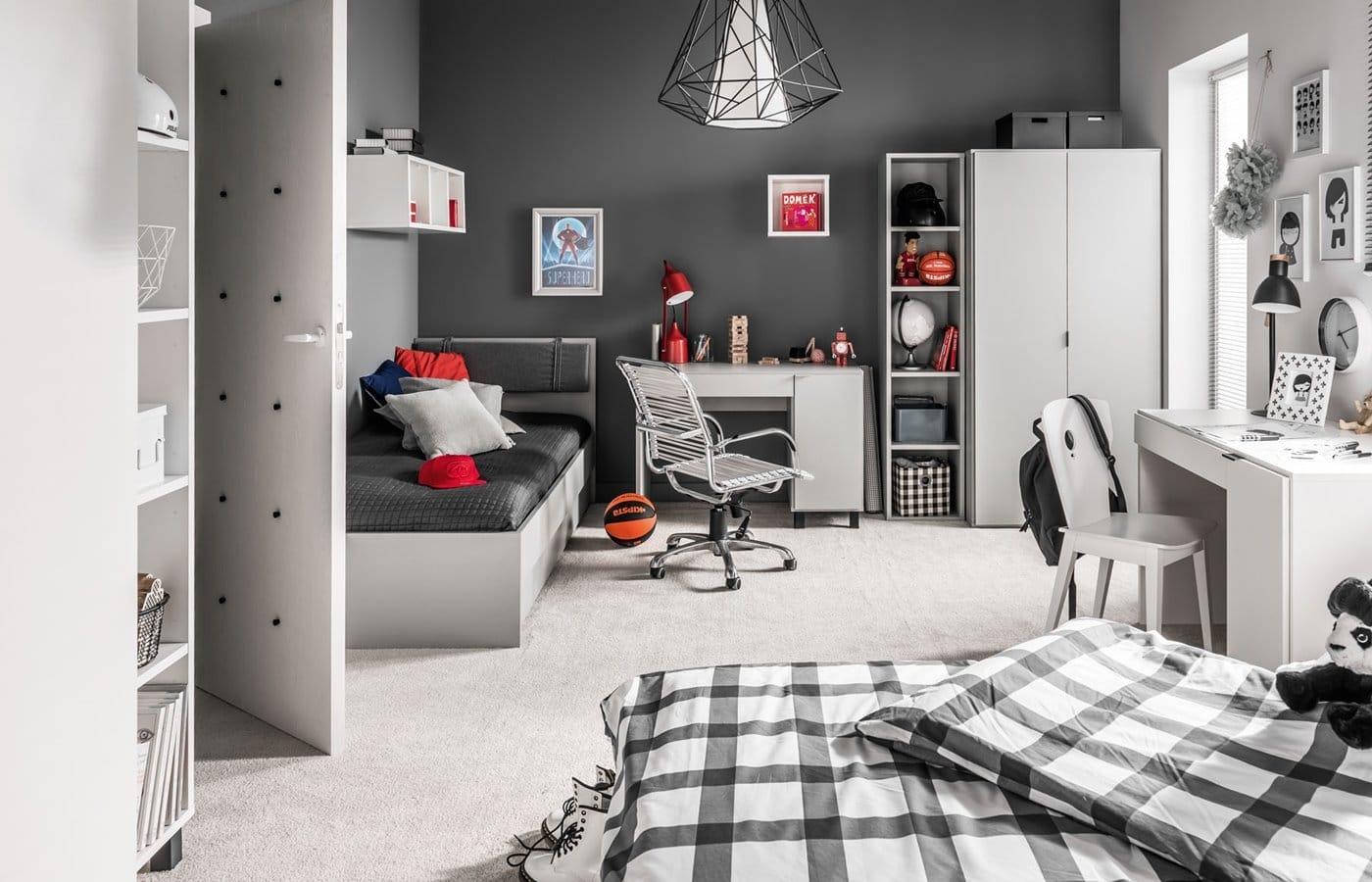 Simple pokój młodzieżowy